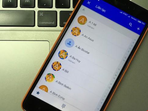 2 cách phục hồi danh bạ đã xóa trên smartphone