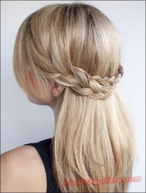 2 Cách tết tóc đẹp đơn giản cho cô nàng thêm đáng yêu đầy dịu dàng