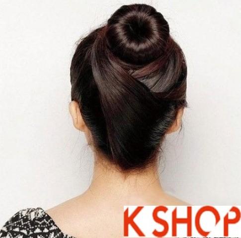 3 Kiểu tóc búi Hàn Quốc đẹp 2016 dễ làm cho bạn gái năng động