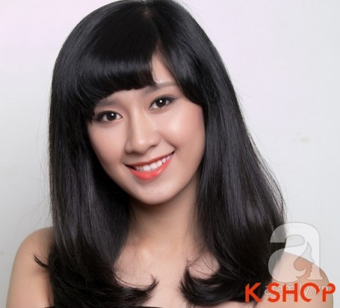 3 Kiểu tóc dài ngang vai Hàn Quốc đẹp cho bạn gái dịu dàng 2017