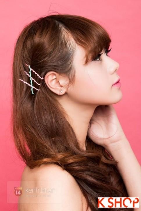 3 Kiểu tóc đẹp bằng kẹp tăm đơn giản dễ làm tại nhà cho bạn gái 2016