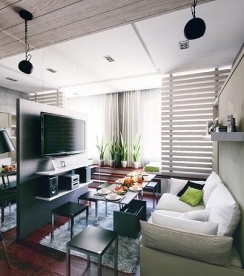 4 căn hộ dưới 30 m2 vẫn đầy đủ tiện ích