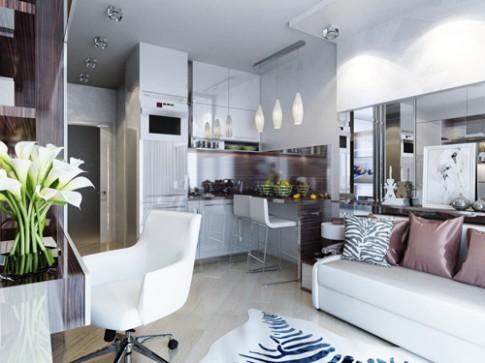 4 căn hộ dưới 30 m2 vừa đẹp vừa tiện ích