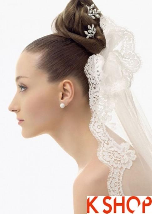 4 Kiểu tóc cô dâu đẹp cho bạn gái duyên dáng quyến rũ ngày cưới 2016