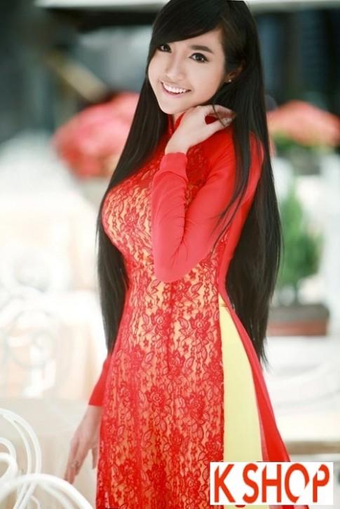 4 Kiểu tóc dài đẹp 2016 kết hợp áo dài truyền thống Việt Nam