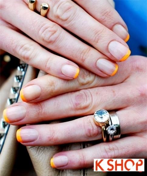 5 Kiểu móng tay nail đẹp họa tiết đơn giản 2016 cho cô nàng sang trọng