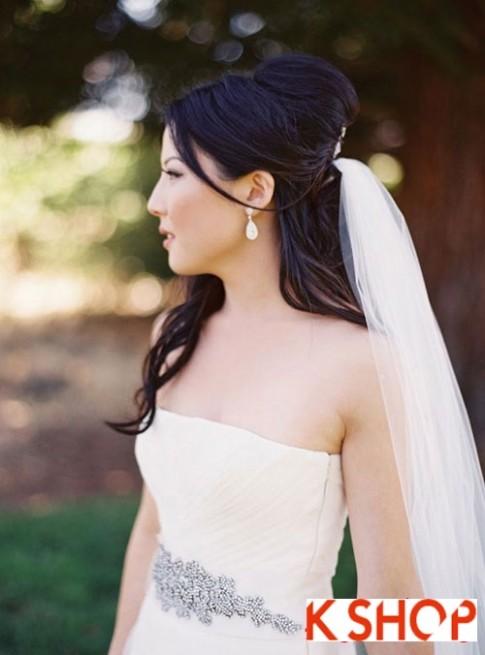 5 Kiểu tóc cô dâu đẹp 2016 đầy quyến rũ cuốn hút trong ngày cưới