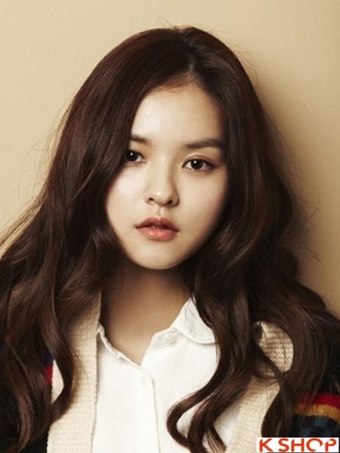 5 Kiểu tóc xoăn dài Hàn Quốc bồng bềnh đẹp 2016 trẻ trung