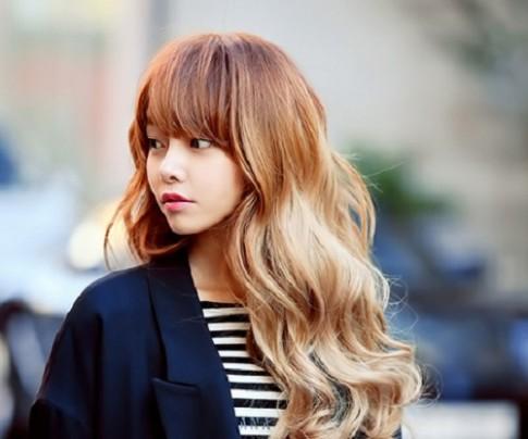 5 màu tóc nhuộm đẹp hot nhất 2016 phong cách hàn quốc