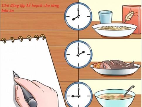 6 bước trong ngày giúp bạn giảm cân nhanh nhất