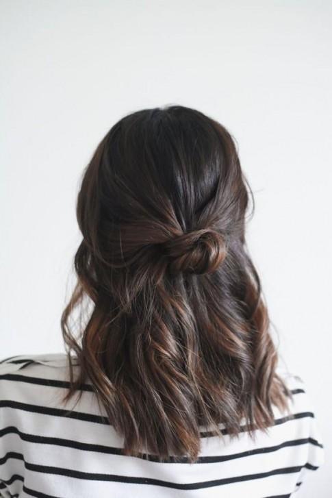 9 kiểu tóc búi đẹp cho nàng sành điệu đến chốn công sở 2016