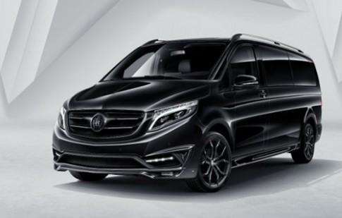 Ảnh chi tiết Mercedes V-class phiên bản thương gia