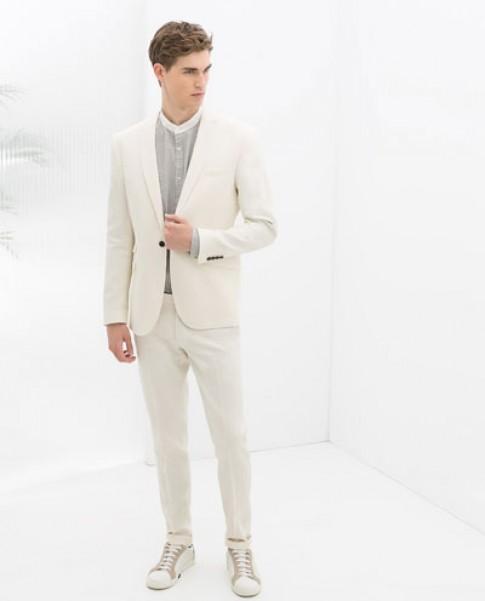 Áo vest nam công sở thương hiệu Zara đẹp trẻ trung phong cách hiện đại đông 2017