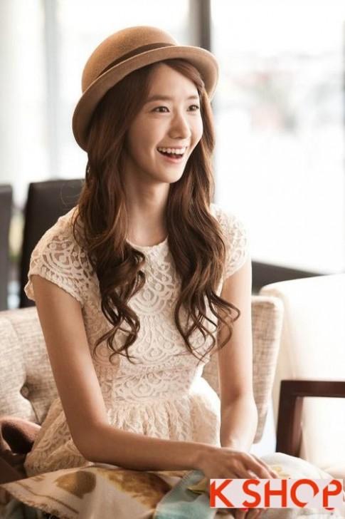 Bật mí những kiểu tóc uốn xoăn đẹp dường như là thương hiệu của Yoona SNSD