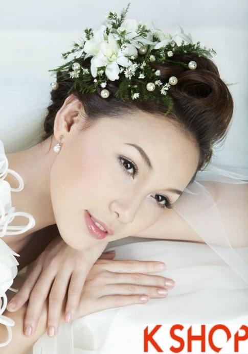 BST tóc cô dâu đẹp Hàn Quốc 2016 dễ thương quyến rũ trong ngày cưới
