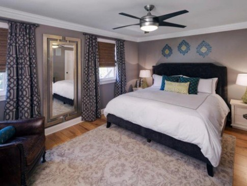 Các tông màu phù hợp cho phòng ngủ vợ chồng