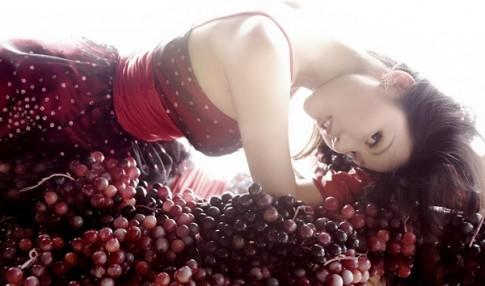 Cách giảm cân nhanh hiệu quả của phụ nữ Pháp bằng trái nho