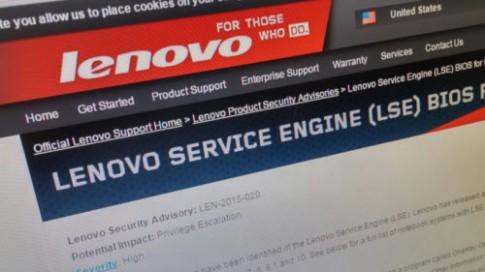 Cách xóa bỏ phần mềm nghi độc hại trên máy tính Lenovo