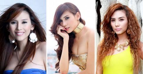 Chấm điểm màu tóc Ngọc Trinh - Angela Phương Trinh