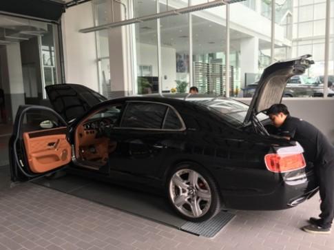 Chăm sóc siêu xe Bentley đúng cách