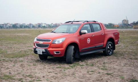 Chevrolet Colorado và Isuzu D-Max 'hết duyên'