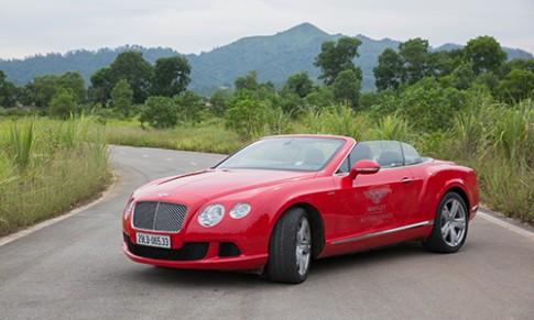 Chi tiết Bentley Continental GTC chạy thử tại Hà Nội