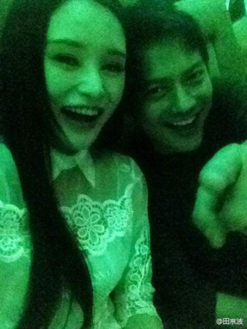 Chồng Châu Tấn lộ ảnh đi bar cùng hotgirl