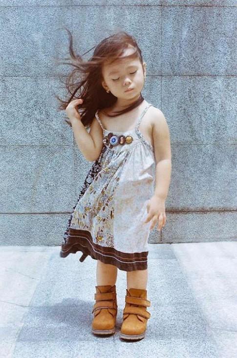 Con gái Đoan Trang đã lớn và xinh đẹp không kém các mẫu nhí đình đám