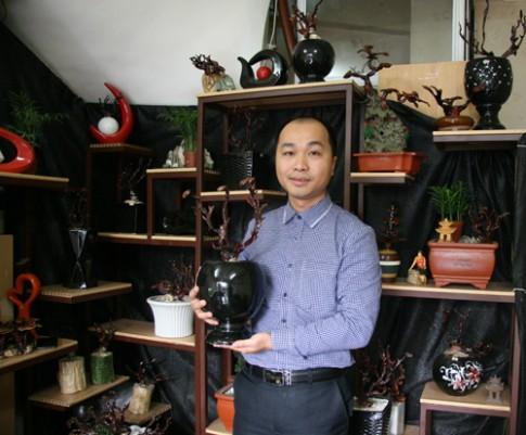 Dân tình lùng sục mua nấm linh chi bonsai tiền triệu