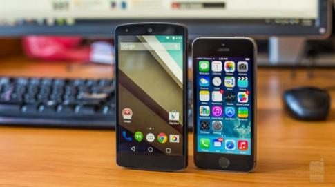 Đặt Android L và iOS 8 lên 'bàn cân'