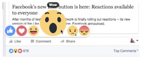 Facebook: Cách chọn yêu, buồn hay giận dữ... cho status của bạn bè