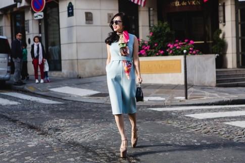 Giám đốc thương hiệu Elise dự Paris Fashion Show 2017