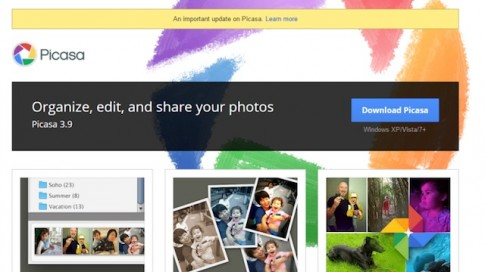 Google khai tử Picasa, chuyển các album ảnh sang Photos