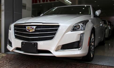 Hàng độc Cadillac CTS về Việt Nam