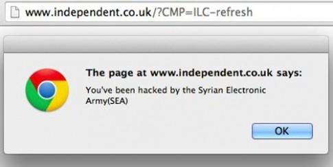 Hàng loạt trang truyền thông quốc tế bị hack bởi SEA