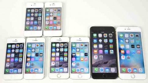 Hệ điều hành iOS 9 chạy phần mềm chậm hơn so với iOS 8.4.1