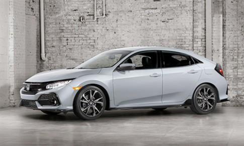 Honda Civic 2017 hatchback - lần đầu xuất Mỹ