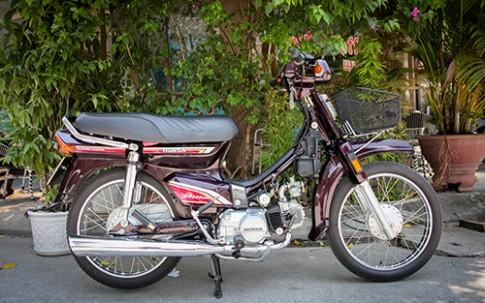 Honda Dream II như 'đập thùng' - hàng hiếm tại Hà Nội