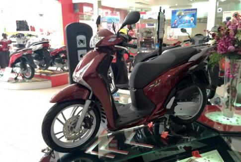 Honda SH125i chênh giá 7 triệu đồng