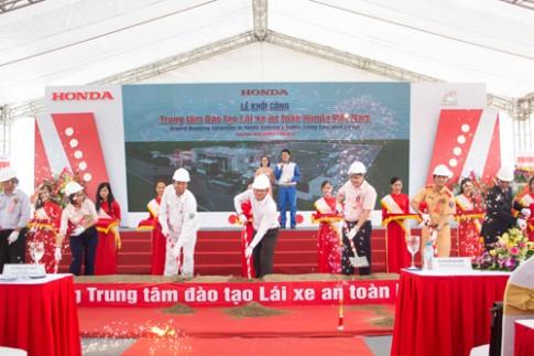 Honda Việt Nam xây dựng trung tâm sát hạch lái xe mới