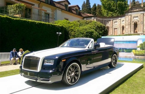 Hộp picnic trên Rolls-Royce đủ mua một xe thể thao