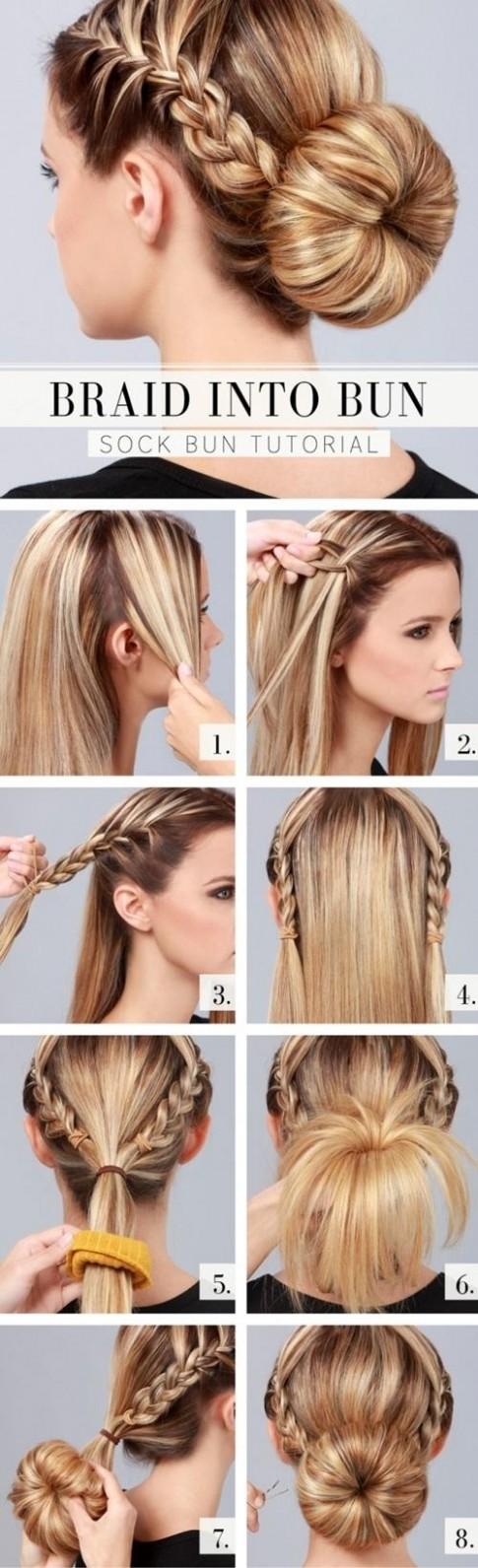 Hướng dẫn làm tóc búi đẹp giản dị cực dễ thương chống nóng hè hiệu quả