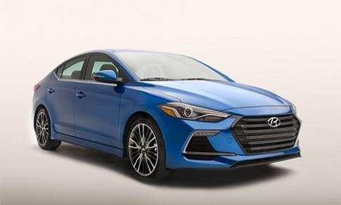 Hyundai Elantra Sport 2017 - bản hiệu suất cao cạnh tranh Civic Si