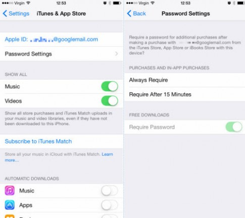 iOS 8.3: Tải ứng dụng miễn phí không cần nhập mật khẩu iCloud