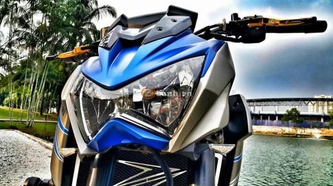 Kawasaki Z800 Matte Grey-Blue Ocean,khi sắc màu lên tiếng