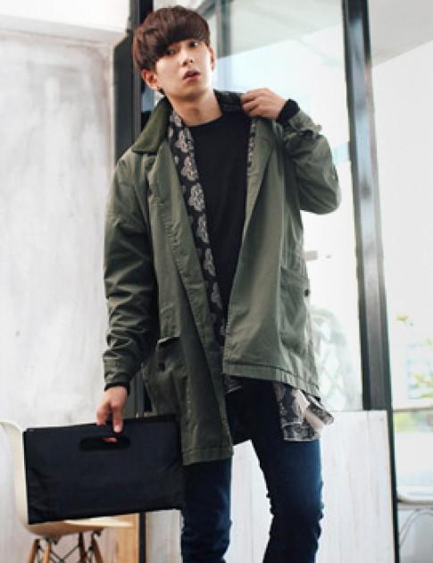 Kiểu áo khoác nam đang gây sốt cực đẹp các chàng lăng xê đông 2016 – 2017 ấm áp