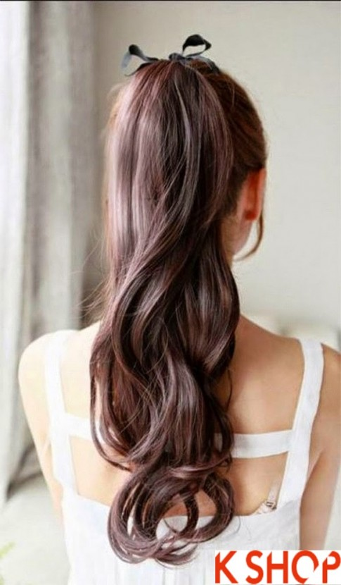 Kiểu tóc buộc đẹp hàn quốc cho các bạn gái xinh xắn quyến rũ 2017