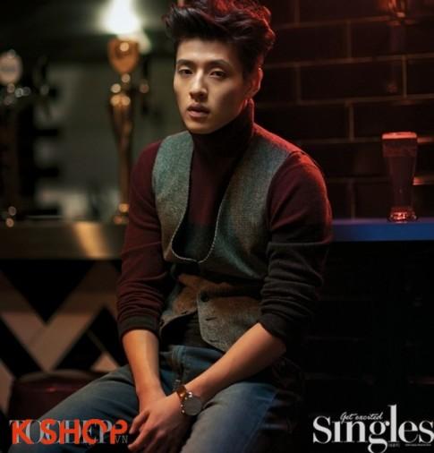 Kiểu tóc nam mái dựng đẹp hot nhất 2016 của các sao kpop Hàn Quốc