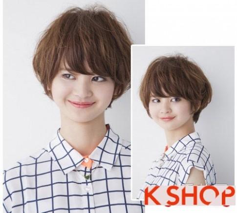 Kiểu tóc ngắn đẹp xì tin cho bạn gái cực xinh như hot Girl 2017