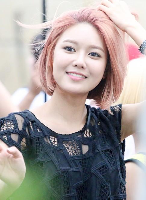 Kiểu tóc ngắn hàn quốc đẹp hot nhất 2016 của Soo Young SNSD